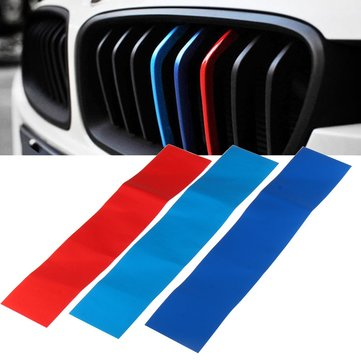 25cm M Type Grill Car Sticker Decoration Vinyl for BMW Grill