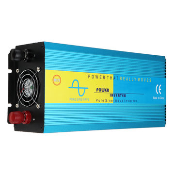 4000W Peak LED Intelligent Power Inverter DC 12V/24V to AC 220V Pure Sine Wave Converter