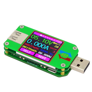 UM 24 USB 2.0 Tester Ammeter Voltmeter Coulometer Capacity Mobile Power Supply USB Tester