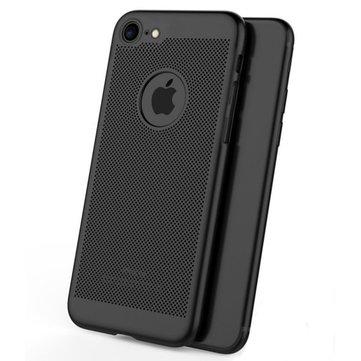 Mesh Dissipating Heat Anti-vingerafdruk Hard PC Case voor iPhone 6/6s 4.7