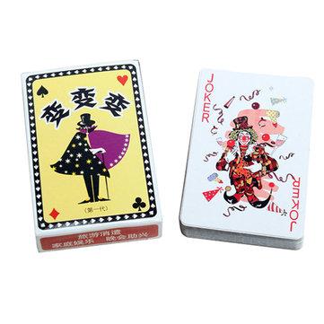 Kingmagic magia naipes poker juguete mágico apoyos mágicos g0295