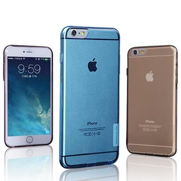 Nillkin Transparent Soft TPU Dust Plug Case For iPhone 6 Plus & 6s Plus