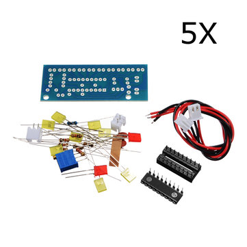 5Pcs DIY LM3915 Audio Level Indicator Electronic Production Suite Kit