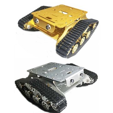 Caesar TSD300 Double Tracked Shock Absorbing Chassis Tank Car Kit with Motor