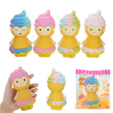 Oriker Squishy Ice Cream Doll 16cm Licensed Slow Rising Original Packaging Collection Gift Decor Toy