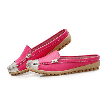 Round Toe Casual Flats Loafers