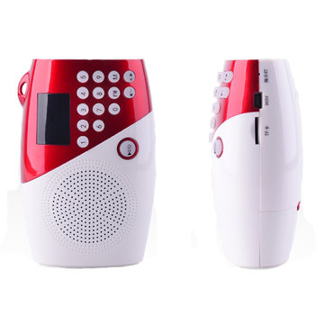 Amoi V8 Square Dance Portable Mini speaker Subwoofer Super Loud Radio MP3 Player