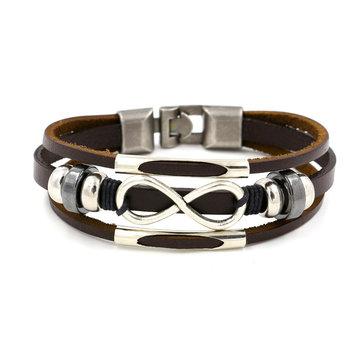 Женский браслет Multilayer Infinity Knot Bracelet