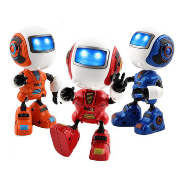 Mini Musical Smart Induction Robot with Light for Kids Chirstmas Gift