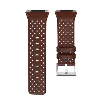 Replacement Leather Accessory Band Bracelet Watch Band Strap for Fitbit Ionic