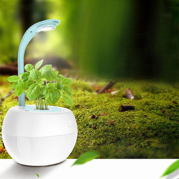 Minleaf Smart Garden Flower Pot Soilless Culture LED Desk Lamp Creative Gifts Automatic Remind Touch Dimmer