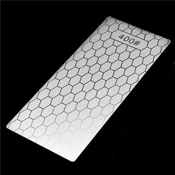 150x63x1mm Whetstone Knife Sharpener 400 Grit Thin Diamond Knife Sharpening Stone