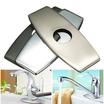 Decorative Faucet Base Hole Cover Deck Plate for Kitchen Bathroom