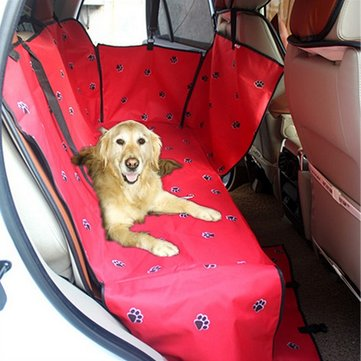 Waterproof Cover Pet Dog Safety Mat Protector Dog Blanket Travel Vehicles Rear Mat