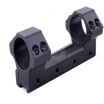 AURKTECH 25.4mm Aperture Scope Ring High Profile Fit for 20mm Card Slot Rail Flashlight Mounts