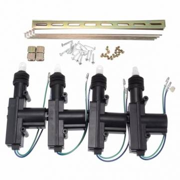 4X Universal Car Truck Auto Heavy Duty Power Door Lock Actuator Motor 2 Wires