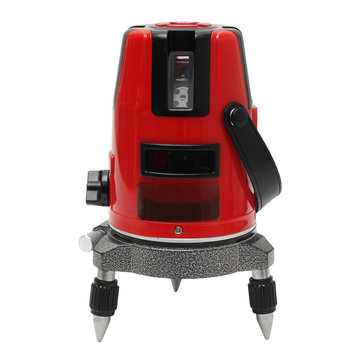 20 Times Light Automatic Self Leveling Red 5 Line Laser Level 360° Cross Measure