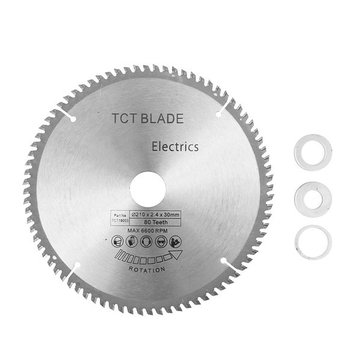 Buy TCT 210mm 80T Circular Saw Blade 30mm Bore HSS Cutting Disc for $14.89 in Banggood store
