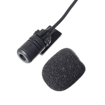 Car DVD Microphone Hands Free Clip 3.5mm Mini Studio Speech Microphone