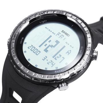 Bakeey LED Водонепроницаемы Цифровой кварц SKMEI Модные часы Военный Спортивные мужские часы Smart Watch