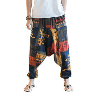 Одежда Men's Casual Ethnic Style Printed