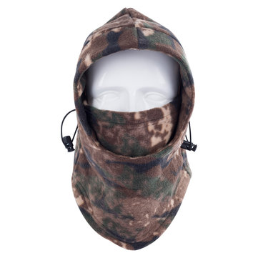 Unisex Winter Fleece Warm Hat Motorcycle Windproof Face Mask Hat Neck Helmet Beanies Bicycle