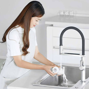 Xiaomi DABAI Kitchen Sink Sensor Pre-rinse Faucet W/ Pre Rinser Sprayer Induction Rotatable Touchless One Handle Hot Cold Mixer Tap