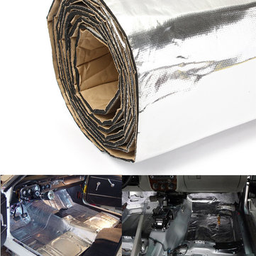 imars 300x100cm firewall sound deadener car heat shield insulation deadening material mat sale. Black Bedroom Furniture Sets. Home Design Ideas