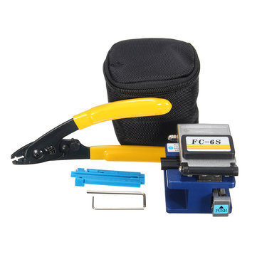 Fiber Optic FC-6S Fiber Cleaver Metal Optical Fiber Cable Cutting