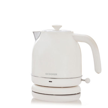 15% OFF For XIAOMI OCOOKER CS-SH01 1.7L / 1800W Retro Electric Kettle with [ NO Thermometer Display ]