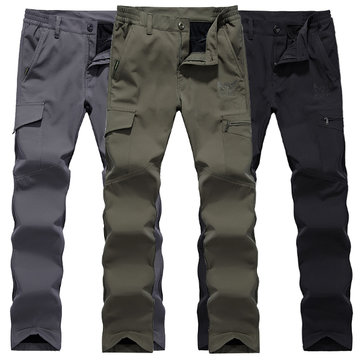 Men Casual Multi Pocket Sport Loose Pants