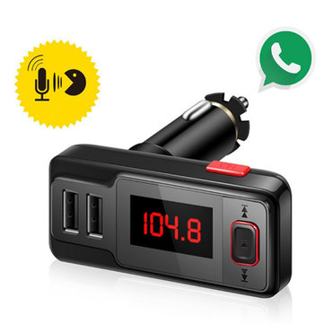 Car Wireless Bluetooth FM Transmitter Radio Adapter MP3 Player Kit USB Car Charger