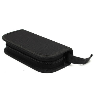 New 1PCs Black Zipper Case Bag For Watch Repair Tool Kit Watchmaker's Tools