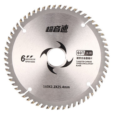 6 Inch Saw Blade Cemented Carbide Woodworking Power Tool Circular Cutting Disc