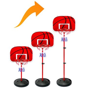 1.6m And 2m Basketball Stands Height Adjustable Basketball Stands Of Iron Frame And Iron Bar