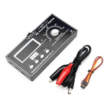 GWS MT-1 Multiple Servo Tester Speed Tester Tachometer For RC Models