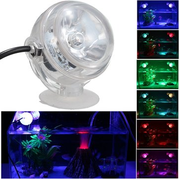 Under Water LED Colorful Project Light Aquarium Ornament Fish Tank Decor