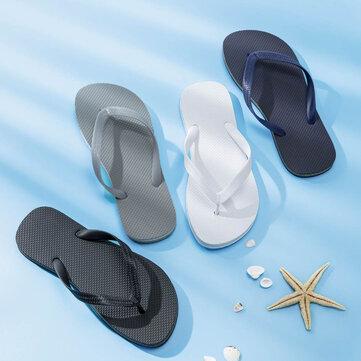 Xiaomi UREVO Flip Flops Summer Beach Slippers Non-slip Wear Resistant Casual Sandals Shoes