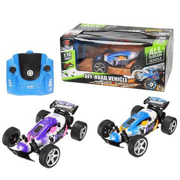 1:18 Formula Vehicle 2.4 GHz PVC Shell RC Car High Speed Racing