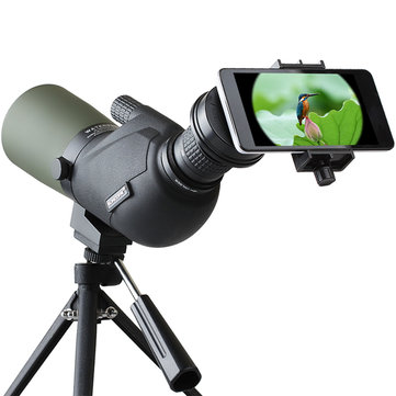 IPRee™ 15-45X60A Travel Monocular Bird Watching Telescope Spotting Scope HD Optic Zoom Lens Eyepiece Nitrogenization Waterproof