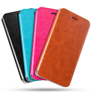 MOFI Flip PU Leather Smart Sleep Stand Cover Case For Xiaomi Mi6 Mi 6