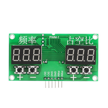 3Pcs Square Wave Signal Generator Stepping Motor Drive Module PWM Pulse Frequency Duty Cycle Adjustable