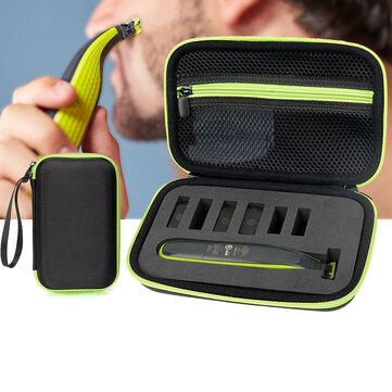 Shaver Pouch Carrying Case for Philips Norelco Oneblade Hybrid Electric Hair Trimmer Razor QP2520