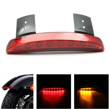 Motorcycle Fender Edge LED Rear Tail Light Turn Signals For Harley Sportster XL883 1200