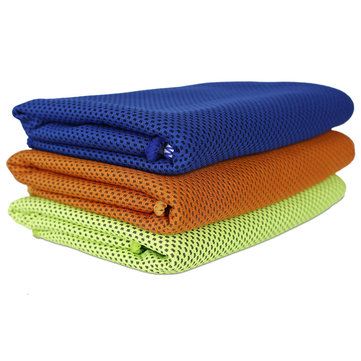 COPOZZ Ice Towel Cold Sense Silk Cool Sweat Quick Dry Smooth Ultralight Outdooors Sports Fitness Yoga