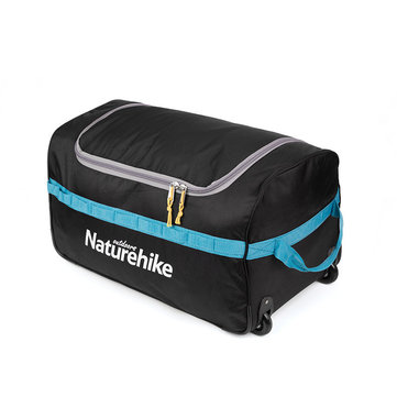 Naturehike 85/110L Portable Folding Suitcase Luggage Storage Bag Travel Wheel Duffle Organizer Pouch