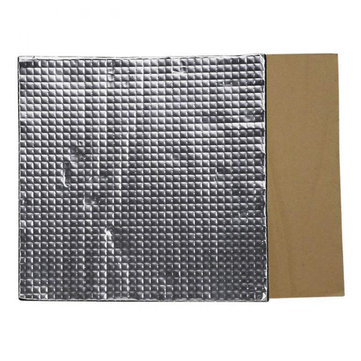 220*220*10mm Blue Foil Self-adhesive Heat Insulation Cotton with Black Glue For 3D Printer Heated Bed