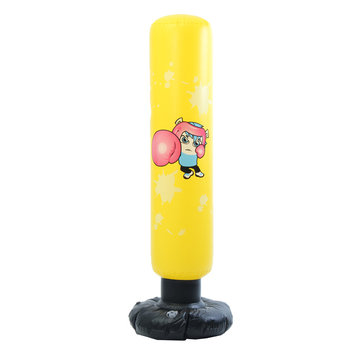 Inflatable Punching Bag Boxing Toy Karate Kids Sports Bop Child