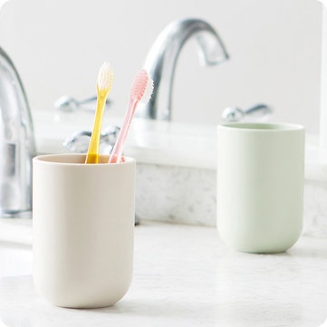 350ML Food Grade PP Coffee Tea Cup Water Bottle Toothbrushing Rinsing Cup Toothbrush Holder Mug