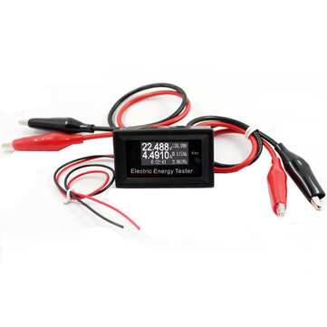 100V 15A Electric Energy Tester DC Voltmeter Ammeter Current Voltage Meter Charger Power Supply Battery Capacity Tester